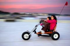 trycicle езды Стоковая Фотография RF