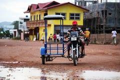 Trycicle na Corown wyspie Zdjęcie Stock