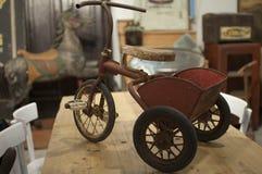 Trycicle velho do século passado Foto de Stock Royalty Free