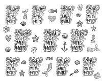 tryck royaltyfri illustrationer