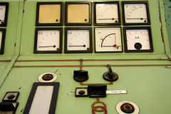 tryck för jämviktskompressorhus royaltyfri bild
