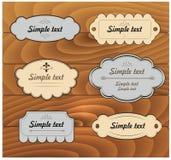 tryck Fastställd etikett vektor vektor illustrationer