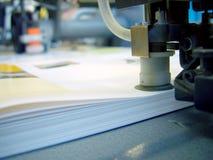 tryck på printing Arkivbilder