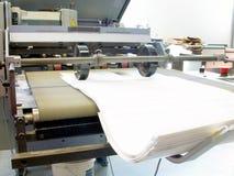 tryck på printing Arkivfoto