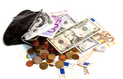 tryck under valuta Royaltyfri Bild