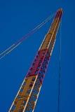 trycka på för sky Fotografering för Bildbyråer