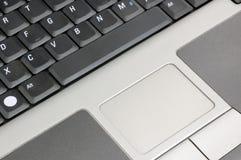 trycka på för tangentbordmus Arkivbild