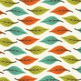 Tryckabstrakt begrepp lämnar modellvektorgräsplan orange färg vektor illustrationer