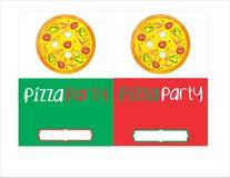 Tryckbart parti stock illustrationer