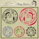 Tryckemail Santa Claus royaltyfri illustrationer