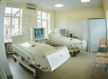 Tryckkammare i sjukhus Royaltyfri Foto