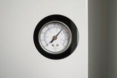 Tryckmätare för mätning av lufttryck för bransch royaltyfria bilder