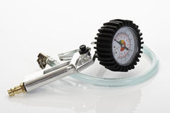 Tryckmätare manometer, lufttryck som mäter skalan Royaltyfri Fotografi