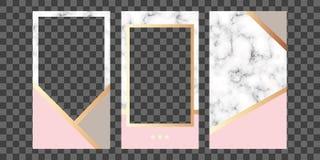 tryckning Redigerbar ber?ttelsemall Modell f?r fotoet som isoleras p? genomskinlig bakgrund stock illustrationer