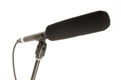 tryckspruta isolerad mikrofon Royaltyfri Fotografi