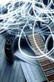 tryckvågmusikal Arkivfoto