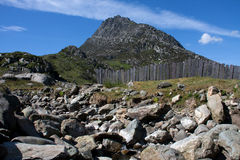 Tryfan Mountain Stock Images
