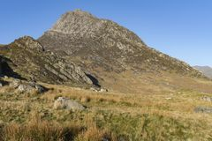 Tryfan, Snowdonia, North Wales,UK stock images