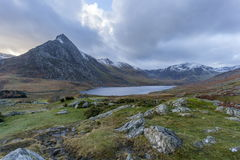 Tryfan and the Ogwen valley Stock Photography
