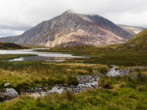 Tryfan, Pays de Galles Photos stock