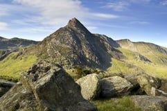 Tryfan Snowdonia stockfoto