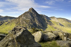 Tryfan Snowdonia Wales UK Stock Photo