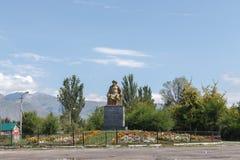 Tryk, Issyk Kula Kirgistan, Sierpień, - 12, 2016: Khan Issyk Kula Bora Obrazy Royalty Free