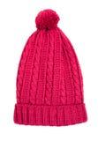 trykotowa kapelusz czerwień Zdjęcie Royalty Free