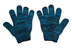 trykotowa rękawiczki wełna Zdjęcia Stock