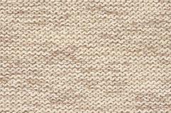 Trykotowa sukienna tekstura Fotografia Stock
