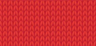 trykotowa tło czerwień Zdjęcia Royalty Free