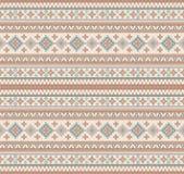Trykotowego Indiańskiego dywanika Paisley ornamentu bezszwowy wzór Etniczny mandala druk ilustracja wektor