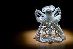 Trykotowy anioł Pod światłem reflektorów Zdjęcie Royalty Free