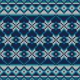 trykotowy deseniowy bezszwowy Świąteczny i Modny puloweru projekt Zdjęcie Royalty Free