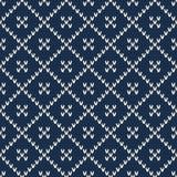 trykotowy deseniowy bezszwowy Modny puloweru projekt Obrazy Stock