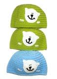 Trykotowy kapelusz handmade Zdjęcie Royalty Free