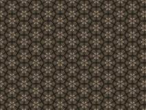 Trykotowy kształtujący wzorzysty dywanik i dłudzy ostrzy trójboki ilustracji