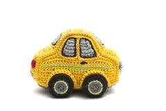 Trykotowy mały samochód dla dzieci, Fotografia Stock