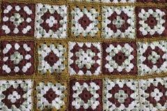 Trykotowy tło, kolorów kwadraty Zdjęcia Royalty Free