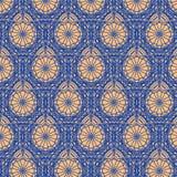 Trykotowy tapetowy bezszwowy wzór Fotografia Stock