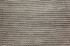 Trykotowy woolen tło, szary tekstura abstrakt fotografia royalty free