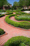 Tryon Palace Garden Stock Photo