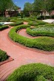 Tryon Palace Garden. Garden at Tryon Palace in New Bern, North Carolina Stock Photo