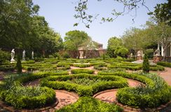 Tryon Palace Gardens Stock Photo
