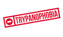 Trypanophobia fear Of Needles rubber stamp royalty free illustration