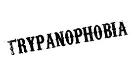 Trypanophobia fear Of Needles rubber stamp stock illustration