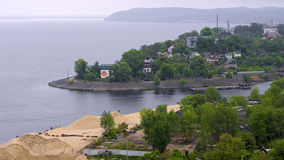 Trypillya村庄,乌克兰 库存照片