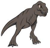 Tryrannosaurus sauvage Rex Cartoon Image stock