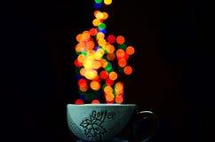 Tryskaczowa kawa Fotografia Royalty Free