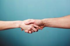 Trząść ręki Fotografia Stock